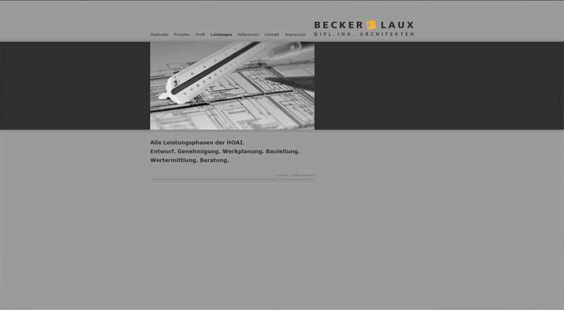 webdesign webseite f r architekten m nster webdesign. Black Bedroom Furniture Sets. Home Design Ideas